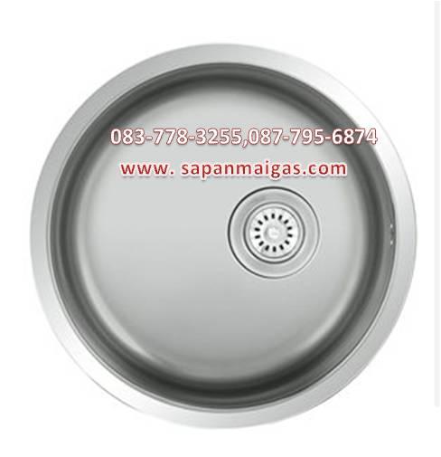 ซิ้งค์ล้างจานแบบวงกลม รุ่น Circular 450 ยี่ห้อ eve