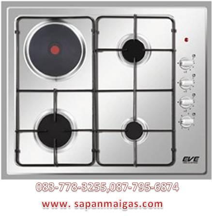 เตาแก๊สและเตาไฟฟ้า อีฟ HB60-3G1EP/MSE