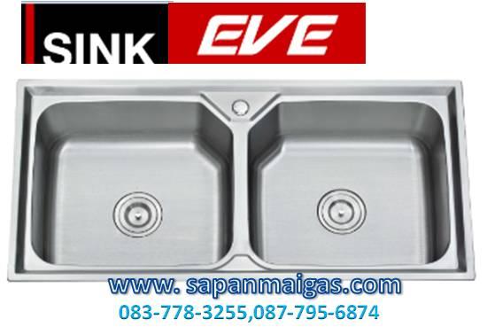 ซิ้งค์ล้างจาน 2 หลุม (อีฟ) EVE รุ่น Willow