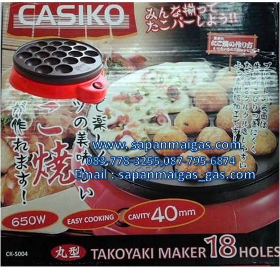 เครื่องทำขนมทำทาโกะยากิ ยี่ห้อ CASIKO