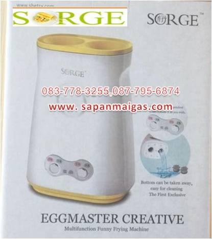 เครื่องทำไข่ม้วนไฟฟ้า แบบคู่ รุ่นใหม่ (Eggmaster creative)