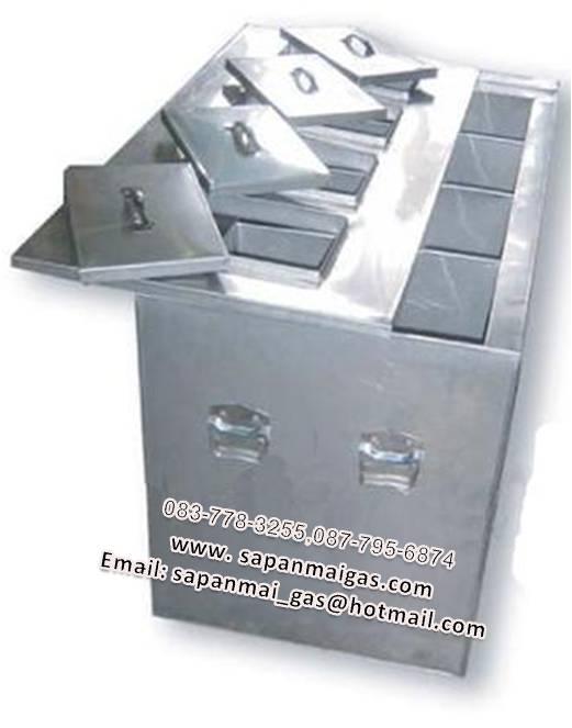 ตู้เก็บน้ำผลไม้ปั่น ตู้เก็บชาไข่มุกปั่น ตู้เก็บน้ำปั่นเกล็ดหิมะ 4 ฝา 8 ช่อง