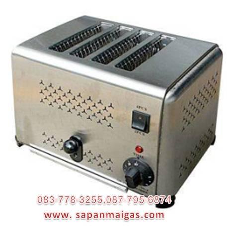 เครื่องปิ้งขนมปังอัตโนมัติ 4 ช่อง รุ่น DS-4 ยี่ห้อ Nanotech
