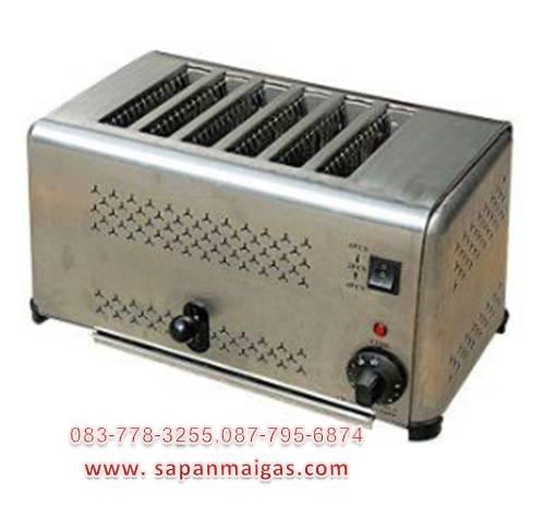 เครื่องปิ้งขนมปังอัตโนมัติ 6 ช่อง   รุ่น DS-6