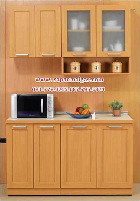ชุดครัว MODERN KIT 140 CM.สีบีช