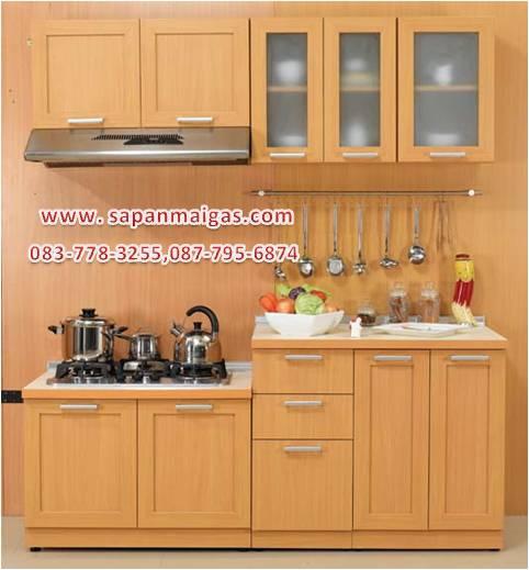 ชุดครัว MODERN KIT 190 CM.สีบีช