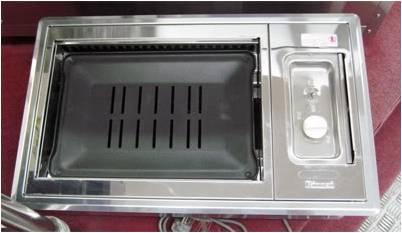 เตาย่าง-ปิ้ง smokeless แบบฝัง ดูดควันในตัว Rinnai รุ่น RMR-503