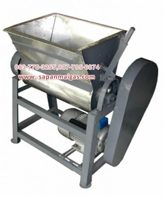 เครื่องนวดแป้งแบบถังแนวนอน  (Flour mixer machine)