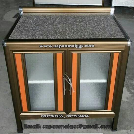 ตู้ท๊อปหินแกรนิต 100 ซม. ขอบมน รุ่น EXCIT