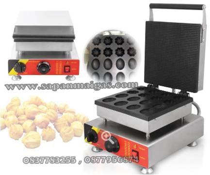เตาพิมพ์ขนมไข่ ไฟฟ้า ลายมะเฟือง มะไฟFry King  รุ่นNP-873