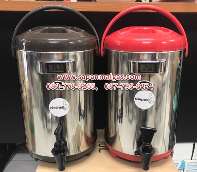 ถังเก็บน้ำชา ถังพักชา สแตนเลส ขนาด 10 ลิตร SH-T10L