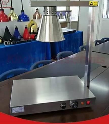 โคมไฟอุ่นอาหาร 1 หัว  พร้อมฐานฮีตเตอร์ รุ่นMS-DR1