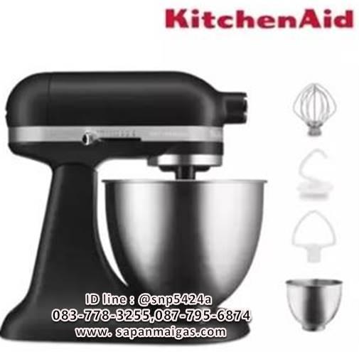 เครื่องผสมอาหาร Kitchenaid 3.5 QT Artisan Mini Matte Black ดำ