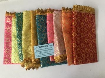 ผ้าสไบแบบต่างๆ ผ้าพาดบ่า  ทั้งสไบลายเสือ สไบเทพทันใจ  สไบไทย สไบเจ้าแม่ สไบลูกไม้ 3