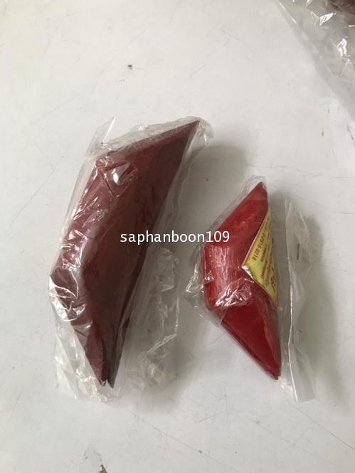 ติ้วเซียมซี พลาสติก สีแดง และ คว่ำหงาย 2