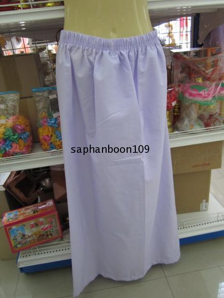 เสื้อปฏิบัติธรรม + ผ้านุ่ง / ผ้าถุงเอวยาง + สไบ ของผู้หญิง   ยี่ห้อรัตนาภรณ์ 5