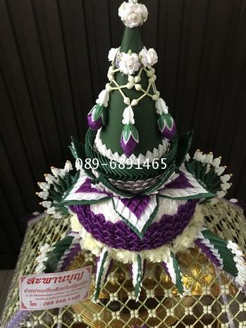 ครอบไตรกรวยทรงเครื่อง ชาววัง ร้อยดอกพุดดินญี่ปุ่น 8