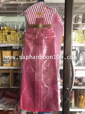 ชุดไทยแก้บน หลายสี ชุดไทยไม้แขวน 3