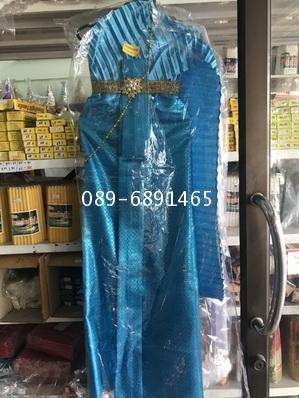 ชุดไทยแก้บน หลายสี ชุดไทยไม้แขวน 4