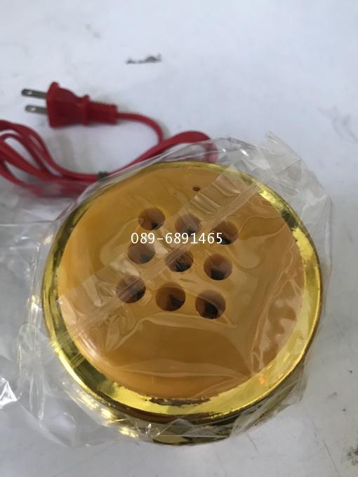 ธูปไฟฟ้า เทียนไฟฟ้าแบบเสียบปลั๊ก กระถางธูปมหาลาภตราหงษ์มังกร 8