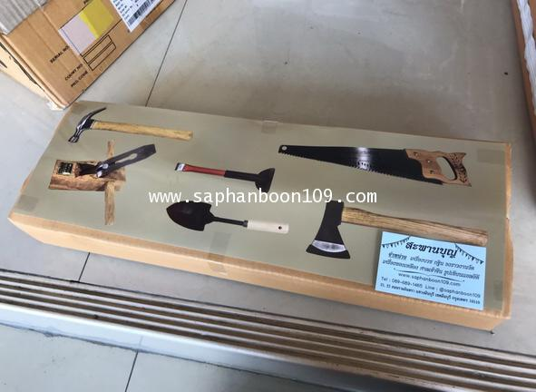 เครื่องมือช่าง - เลื่อย กบ สิ่ว ขวาน ฆ้อน   เสียม อุปกรณ์ทำงานวัด เครื่องโยธา 2