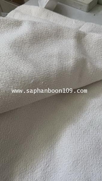 ผ้าห่มฝ้ายทอมือสีขาว ( รุ่นนี้ หนา หนัก )  ผ้าฝ้าย ( กันหนาวแม่ชี  ) 3