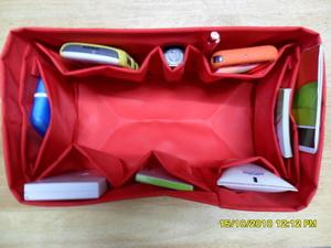 ช่องจัดระเบียบกระเป๋า Lv/speedy 25 (สีแดง) (ราคานี้ยังไม่รวมค่าส่งค่ะ)