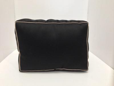 หมอนจัดทรงกระเป๋าchanel PST สีดำ (ราคานี้ยังไม่รวมค่าส่งค่ะ)