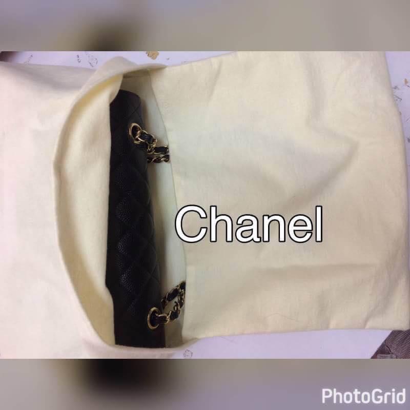 ถุงผ้าใส่กระเป๋าchanel jumbo 12 นิ้ว  chanel reissue 227( ราคานี้ยังไม่รวมค่าจัดส่งค่ะ )