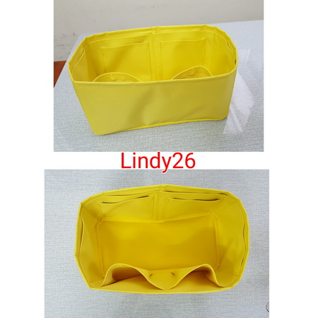 ที่ระเบียบ Hermes Lindy26 สีเหลือง