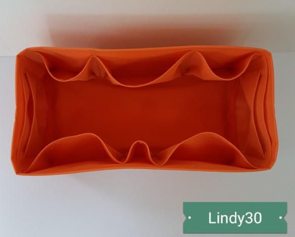ที่จัดระเบียบ Hermes Lindy30 สีส้ม