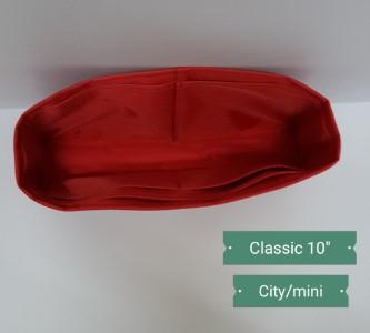 ที่จัดระเบียบ Chanel classic 10 นิ้ว สีแดง
