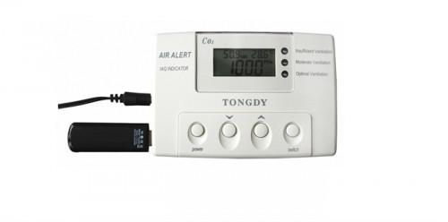 CO2 monitor with USB data logging Model F2000IAQ-CO2-31U  จอภาพ CO2 พร้อม USB data logging รุ่น F200