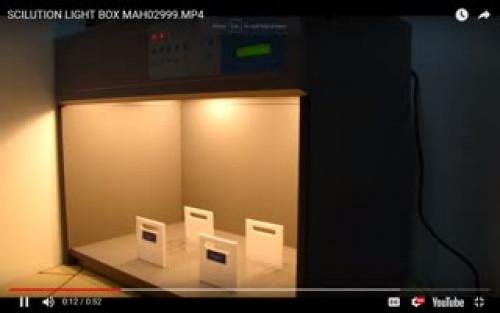 ตู้เทียบสี ตู้แสงเทียบสี เปรียบเทียบสี  วัดสี light Matching Box รุ่น S-60 4