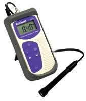 เครื่องวัดค่าออกซิเจนที่ละลายและอุณหภูมิ สำหรับออกภาคสนาม Ecoscan DO 6 สาย 1 เมตร
