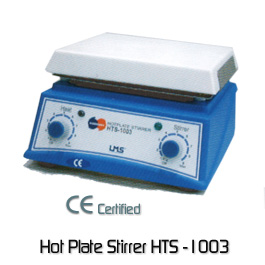 เครื่องกวนสาร แบบให้ความร้อน ( Hot Plate stirrer ) รุ่น HTS 1003