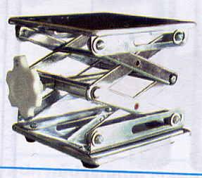 อุปกรณ์ปรับระดับความสูง เครื่องมือในห้องแลป LAB JACK SIZE 15x15 cm. Stainless Streel รุ่น CO14-1