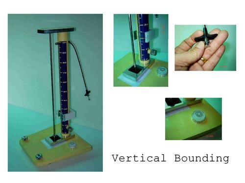เครื่องทดสอบการตกกระแทก Vertical Rebound