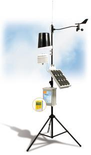 เครื่องตรวจสภาพอากาศ เครื่องมือตรวจวัดอากาศ  Weather station
