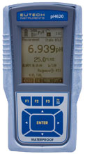 pH meter pH tester pH indicator เครื่องวัดกรด ด่าง เครื่องวัด Cyberscan รุ่น pH 620