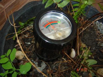 เครื่องวัดความชื้นในดิน  moisture soil meter PH meter  Soil Moisture รุ่น ZD-05 3