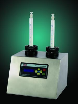 เครื่องอัดความหนา ยา ผง แปแบบดิจิตอลรุ่น No: PD-100 Digital Powder Density Apparatus รุ่น No: PD-100