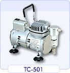 ปั้มสูญญากาศ Vacuum pump Sparmax Model TC-501V ชนิดลูกสูบ ไม่ใช้น้ำมัน