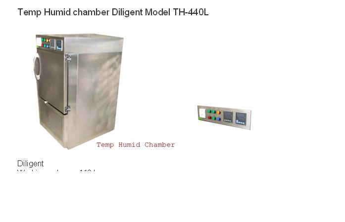 ตู้ควบคุมความชื้น อุณหภูมิ   Diligent Model TH-440L