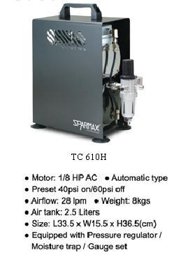 ปั้มอัดอากาศ Air pump Sparmax รุ่น TC-610H