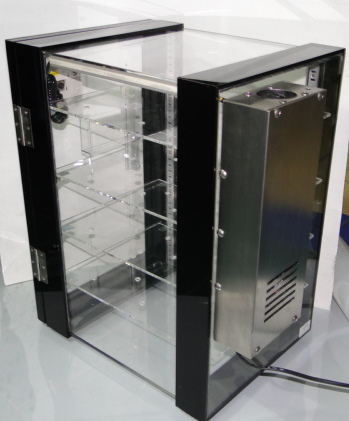 ตู้ลดความชื้นด้วยไฟฟ้า  Dry Cabinet Diligent รุ่น DE-57A แบบอนาล็อค พร้อมแสดงผล