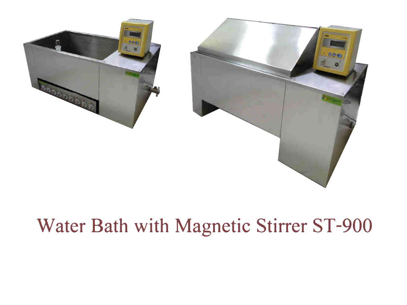 อ่างน้ำร้อน Water Bath Diligent  with Stirrer รุ่น St-900 เครื่องกวนหลายตำแหน่ง