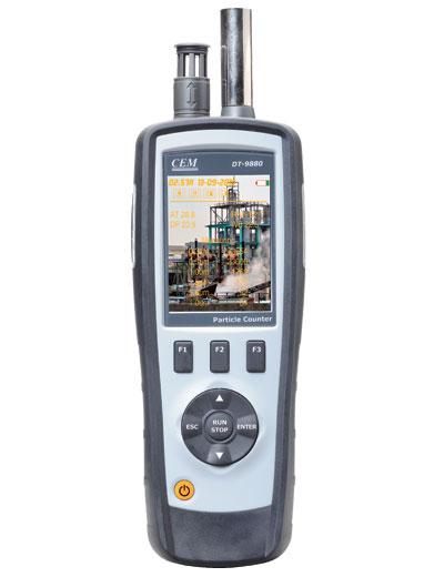 Particle Counter เครื่องวัดฝุ่นละอองในอากาศ รุ่น DT-9880