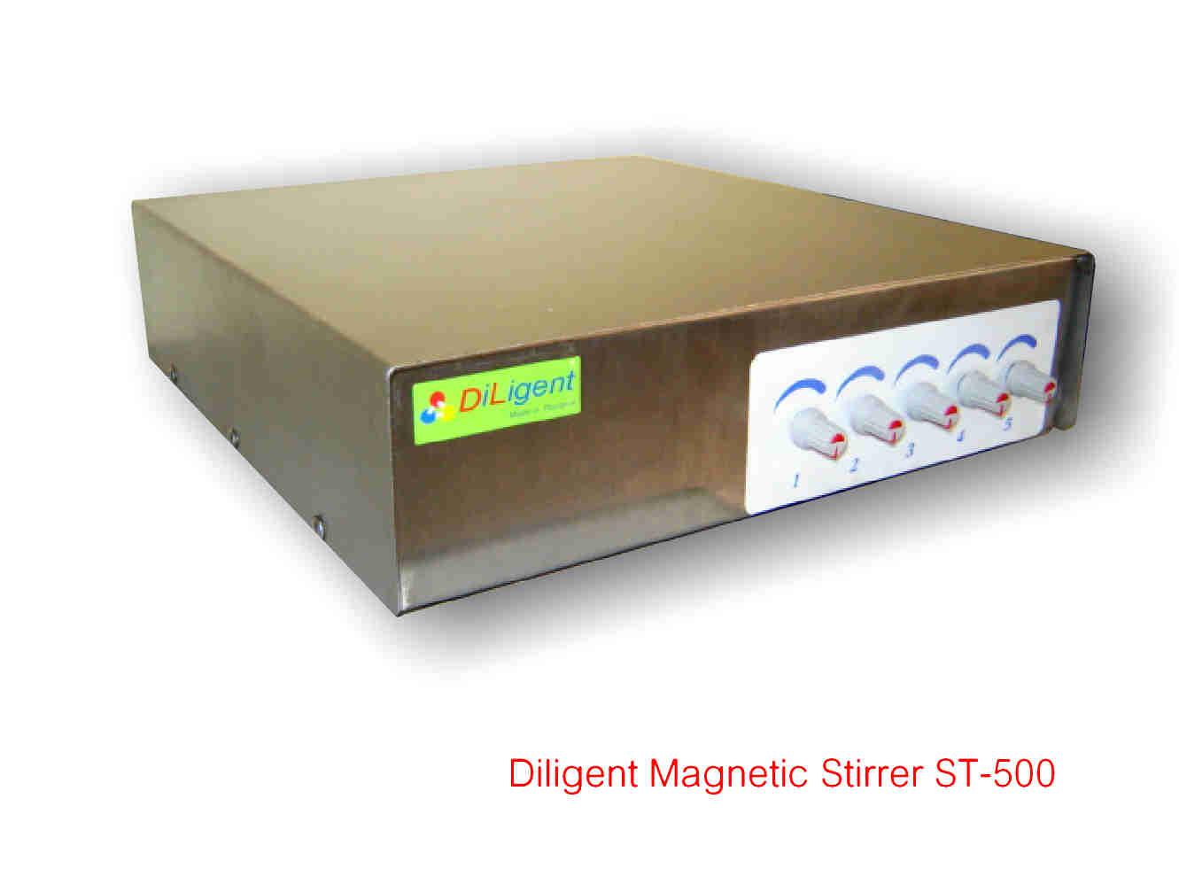 เครื่องกวนสาร Magnetic Stirrer  รุ่น ST-500 EC  เครื่องกวนหลายตำแหน่ง