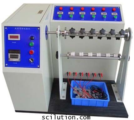 เครื่องทดสอบแรงดัดงอสายไฟฟ้าElectric Plug Cord Bending Tester